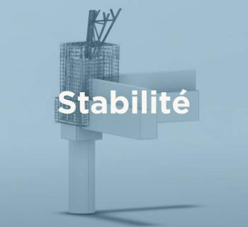 Modélisation 3D - Renforcement de massifs de fondations de pylônes haute tension.