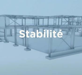 Modélisation 3D, Stabilité - Concession automobile, Namur