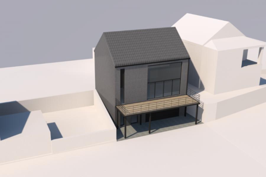 Permis d'urbanisme : Construction d'une nouvelle habitation - Bouffioulx