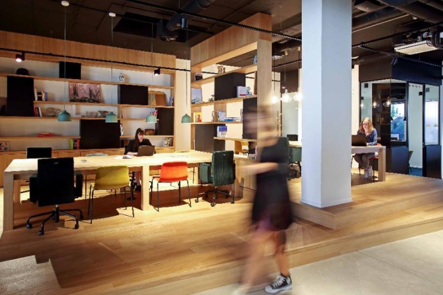 Retranscription Plans d'aménagement intérieur – Silversquare Bailli Bruxelles